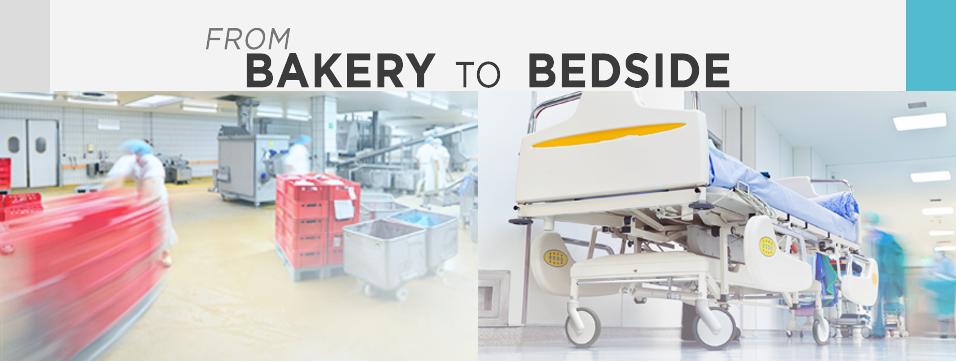 From bakery to bedside