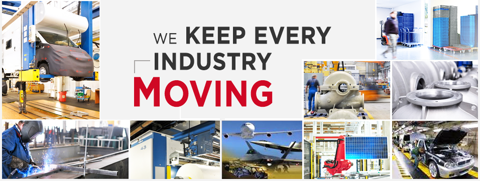 We keep every industry moving