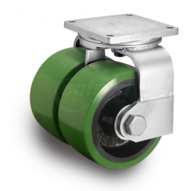 Albion 295 Series Dual Wheel Swivel Caster